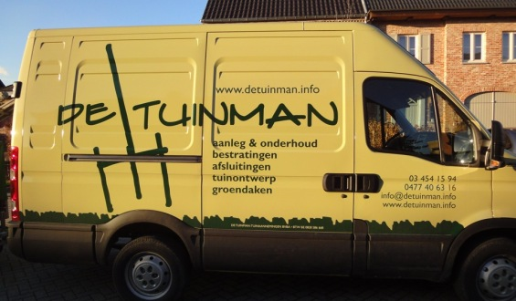 De Tuinman - tuinaanleg en onderhoud - Contact 03