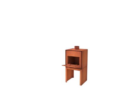 De Tuinman – Tuinaanleg – vuurhaard – THOR DEUR 80