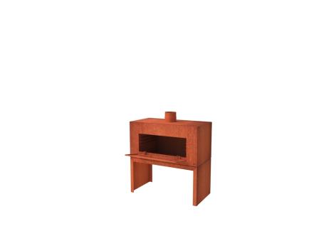 De Tuinman – Tuinonderhoud – vuurhaard – ENOK DEUR 80